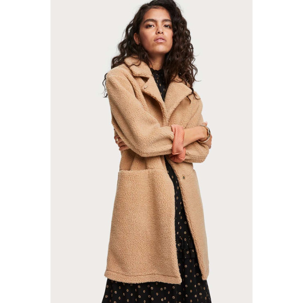Scotch & Soda Women's Teddy Coat