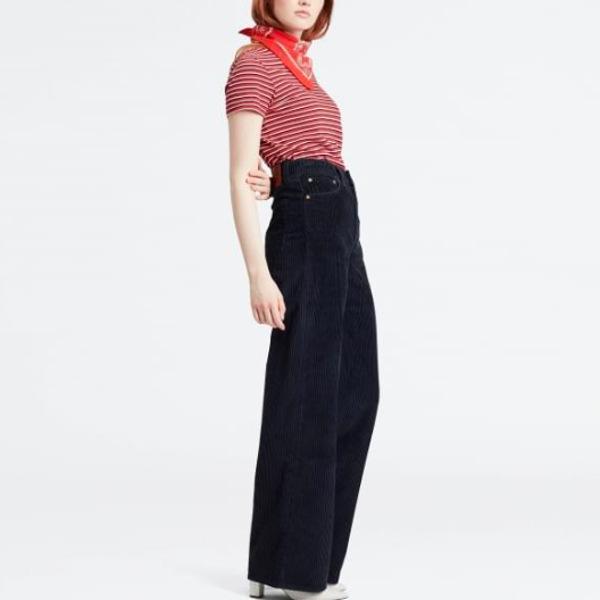 Levi's Women's Ribcage Wide Leg Κοτλέ