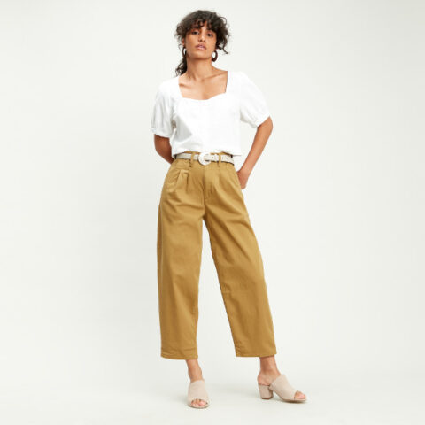Levi's® Pleated Balloon Pants - Women's