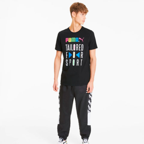 Puma Men's Graphic-Tee Tailored for Sport