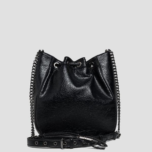 Replay Women's Shoulder Strap Drawstring Bag