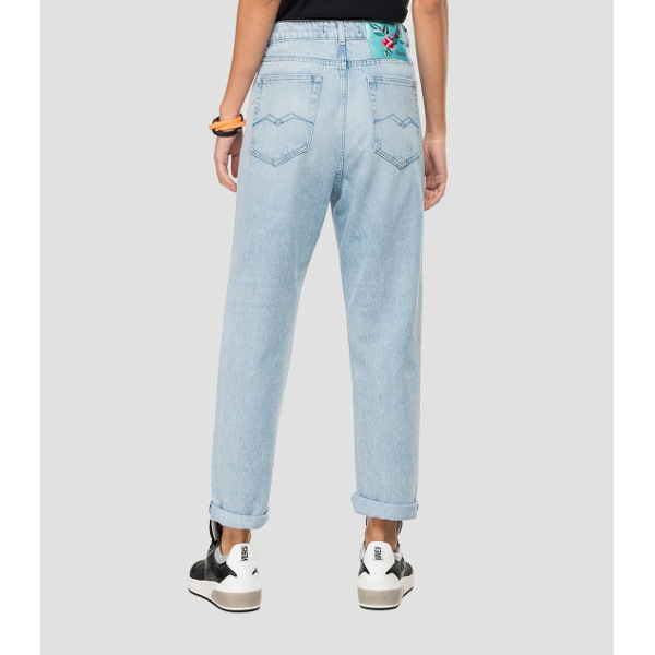 Replay Mom-Fit Tyna Jeans Rose Label