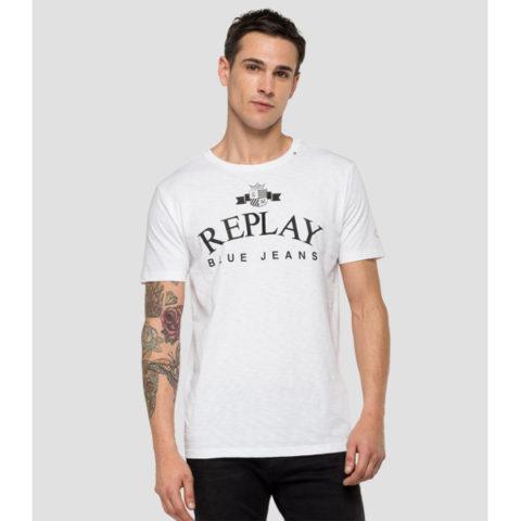 Replay Men's Slub Jersey T-Shirt