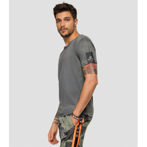 Replay Men's Two-Tone T-Shirt