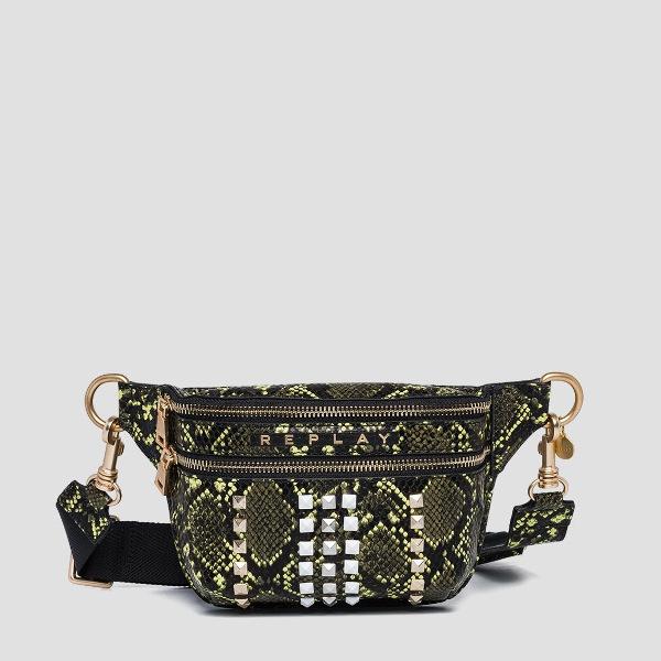 Replay Waist-Bag With Shiny Python Print