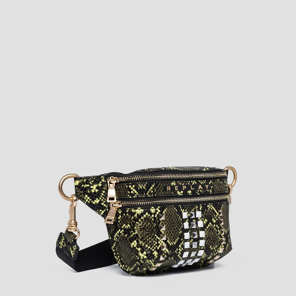 Replay Waist-Bag With Shiny Python Print