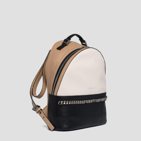 Replay Backpack In Hammered Eco- Leather