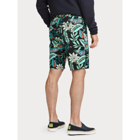 Scotch & Soda Men's Printed Chino Shorts
