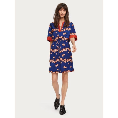 Scotch & Soda Floral Print Dress