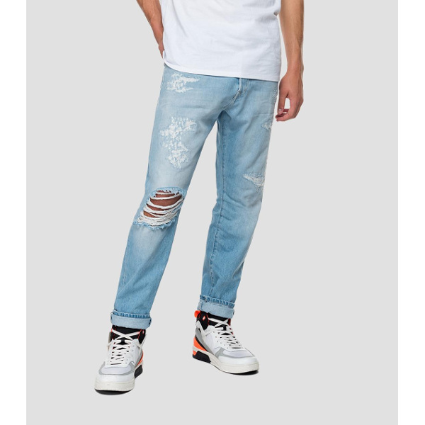 Replay Men's Tapered Fit Tinmar Jeans