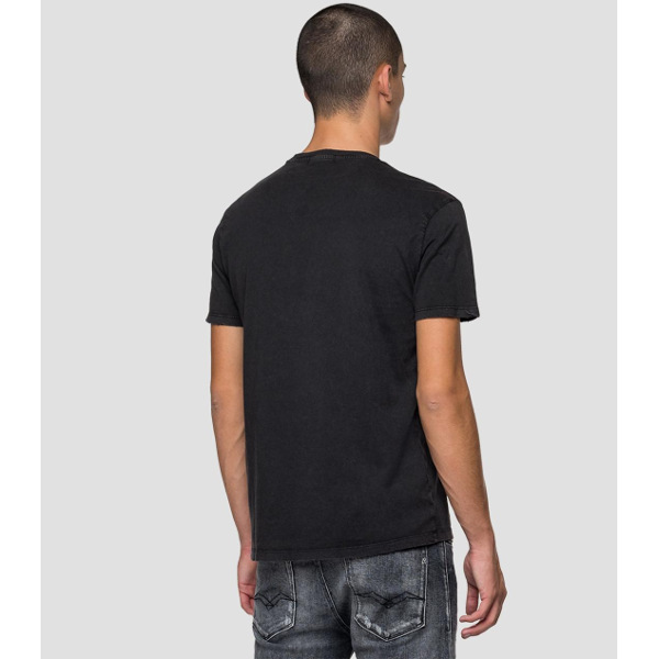Replay Men's T-Shirt With Foil Print