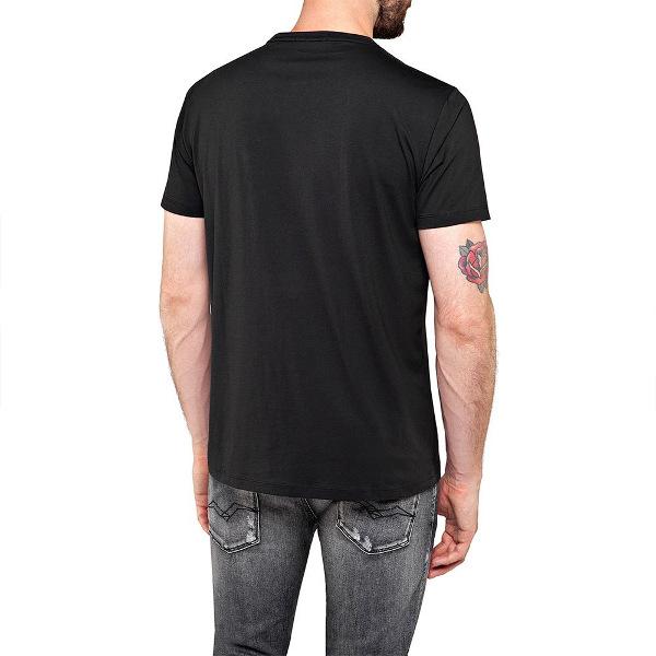 Replay Men's T-Shirt Logo Foil Print