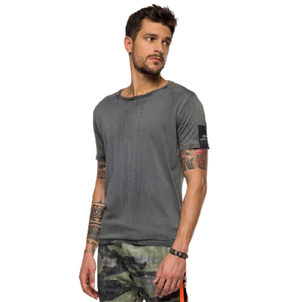 Replay Men's Two-Tone T-Shirt