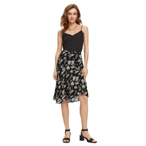 Scotch & Soda Printed Asymmetric Skirt