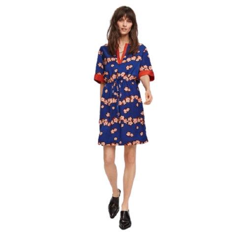 Scotch & Soda Floral Print Dress