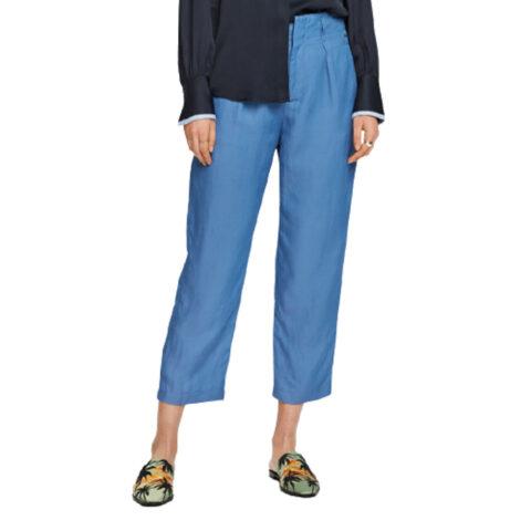 Scotch & Soda Women's Linen Blend Trousers
