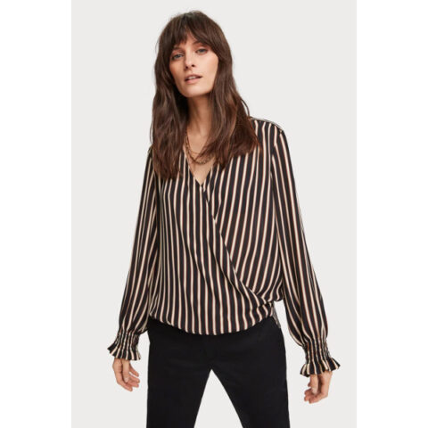 Scotch & Soda Wrap Over Top
