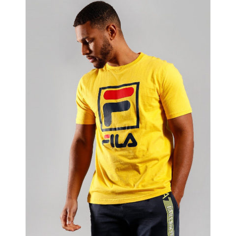 Fila Men's Jack Tee-Shirt Yellow