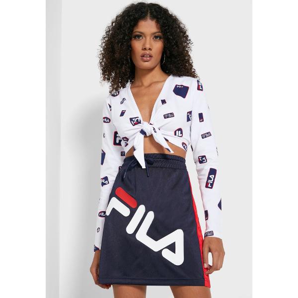Fila Women's Vika Tie Front Crop