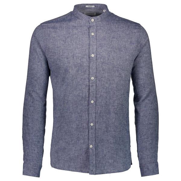 Men's Shirt Slim Fit Mandarin Collar