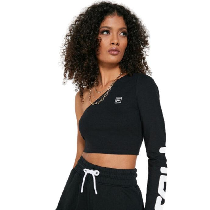 Fila Women's Juniya One Sleeve Crop/Top