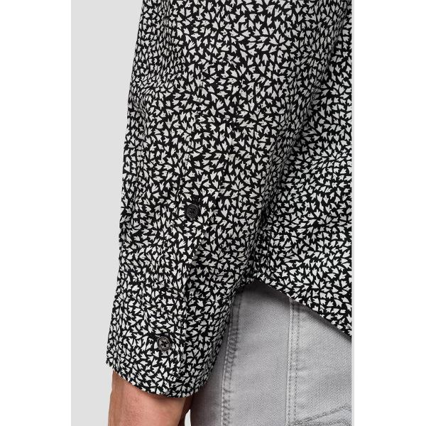 Replay Men's Poplin Shirt With Print