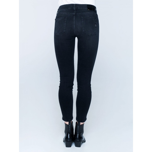 Staff Women's Sandra Skinny Mid/Rise Cropped