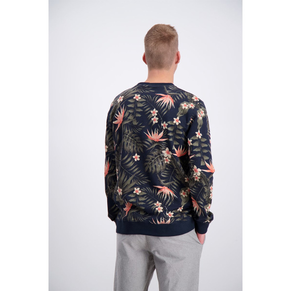 Men's Sweater Floral Pattern Shine Original