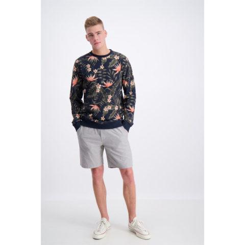 Men's Sweater Floral Pattern Shine Original