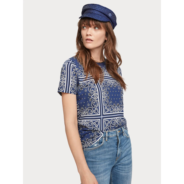 Scotch & Soda All-Over Printed T-Shirt