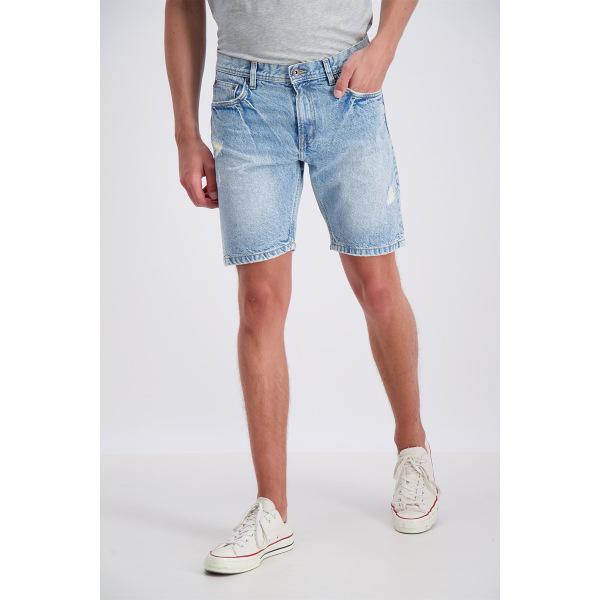 Shine Original Jeans Shorts Bleach Indigo