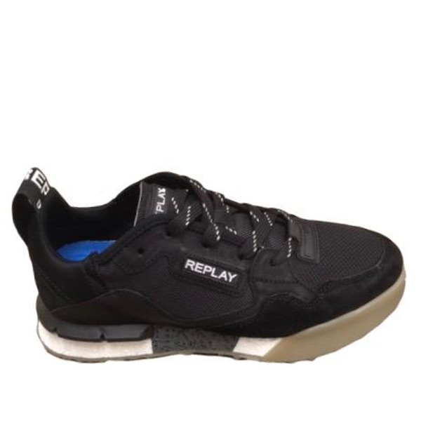 Replay Men's Brains Lace/Up Sneakers Black