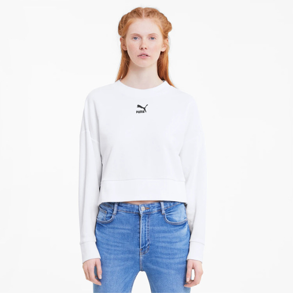 Puma Classics Cropped Women's Sweater