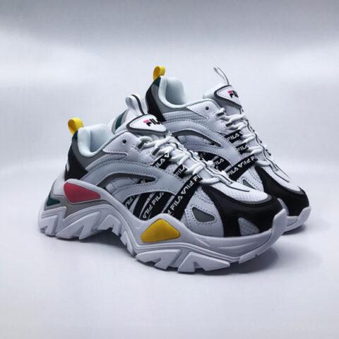 Fila Women's Electrove Sneaker Wht/Blk/Strm