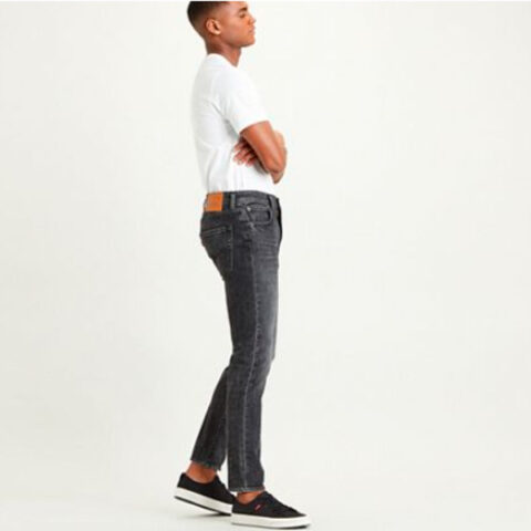 Levi's Men's 512 Slim Taper Smoke Jeans