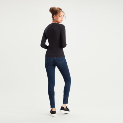 Levi's® Women's Long Sleeved Baby Tee Black