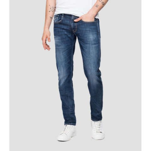 Replay Slim Fit Anbass Jeans Dark-Blue