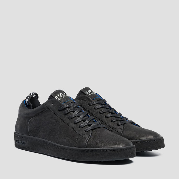Replay Men's Erik Lace-Up Leather Sneakers