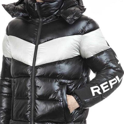 Replay Men's Quilter Jacket Black