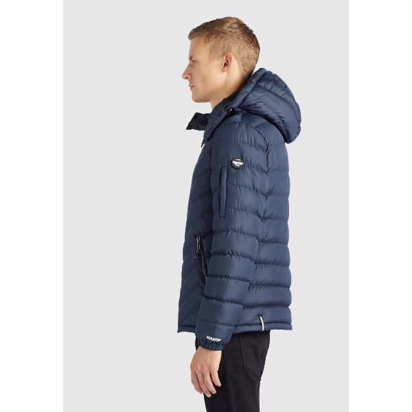 Khujo Men's Quilter Jacket Mauris Blue