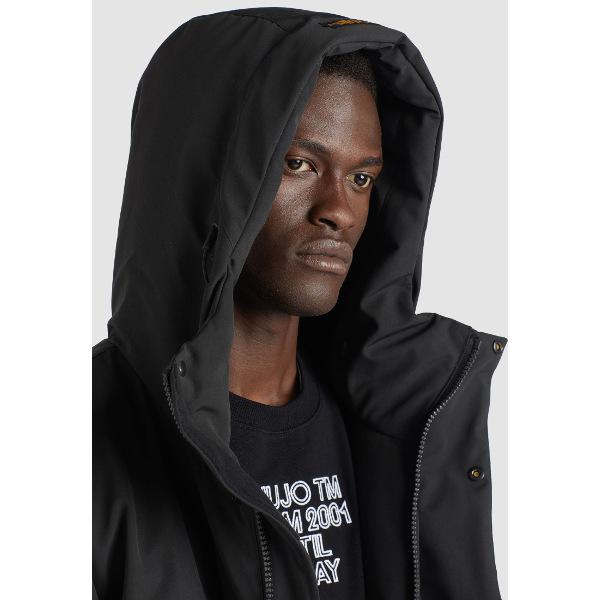 Khujo Men's Winter Jacket Pandor Black