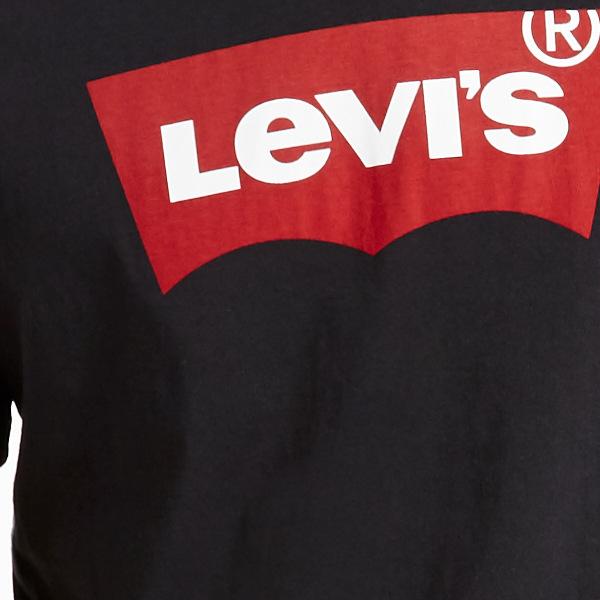 Levi's® Graphic Set-In Neck-Graphic h215-HM Black