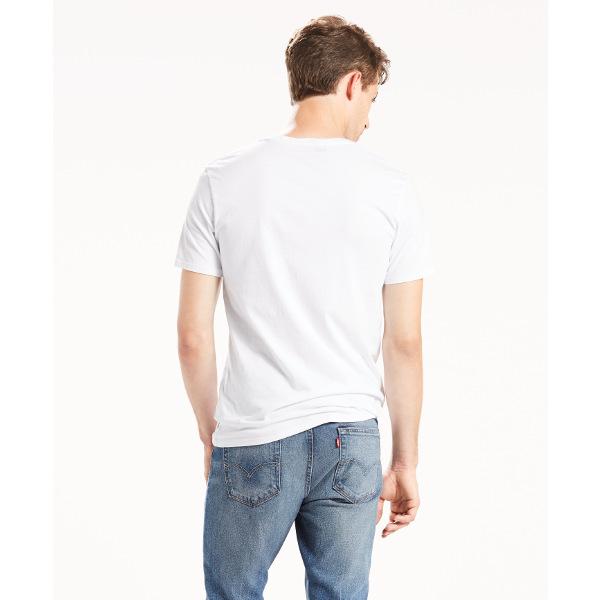 Levi's® Graphic Set-In Neck-HM Graphic White