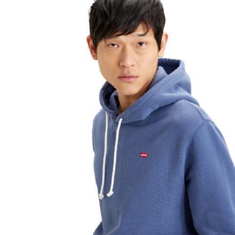 Levi's® New Original Hoodie-Blue Indigo