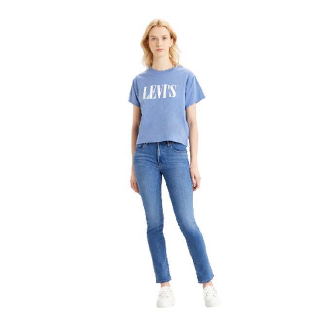 Levi's® Graphic Varsity Tee - Serif Colony-Blue
