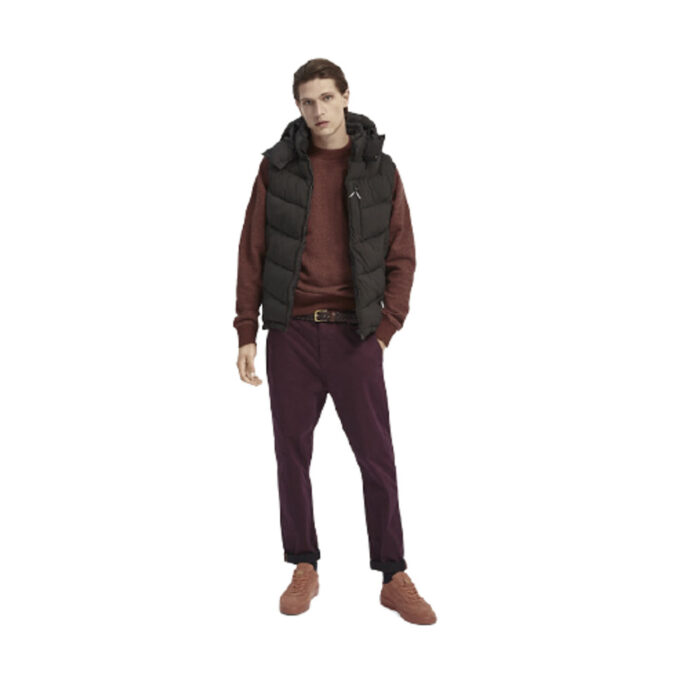 Scotch & Soda Fave – Cotton chino Loose tapered-fit