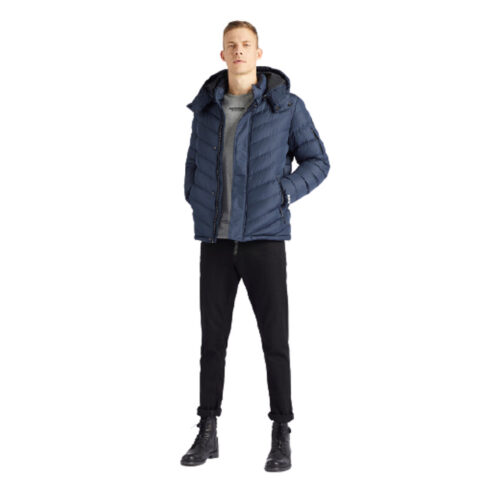 Khujo Men's Quilter Jacket Mauris Blue