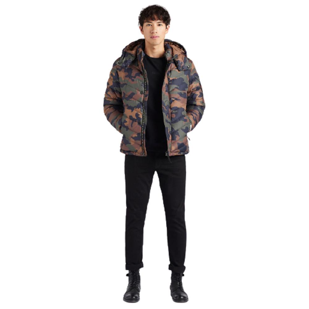 Khujo Men's Quilter Jacket Mauris Camouflage