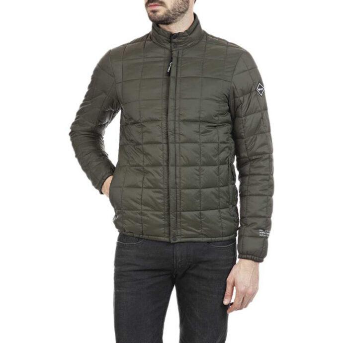 Replay Men's Recycled Nylon Turtleneck Jacket