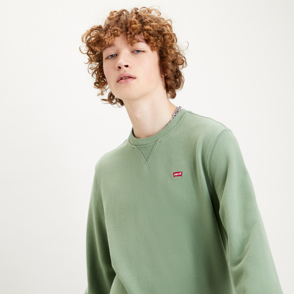 Levi's® New Original Crew - Hedge Green